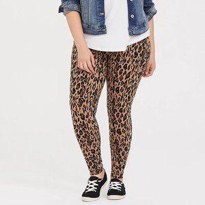 TORRID 0X 4X LEGGINGS Pants Full Length Leopard